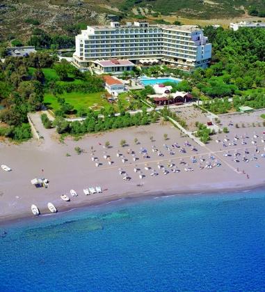 PEGASOS BEACH HOTEL 4* (Faliraki, Rodas), Teritorija
