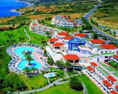 RODOS PRINCESS BEACH 4* (Kiotari, Rodas), Teritorija