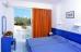 EVI HOTEL 3* (Faliraki, Rodas), Apartamentų miegamasis